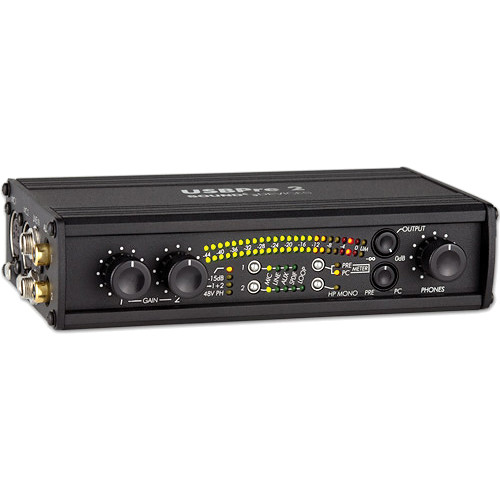 Sound Devices USBPre 2 - Microphone Interface for Computer Audio