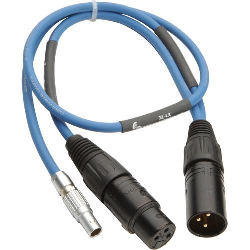 "Sound Devices XL-LX - LEMO-5 to 3-Pin XLR M/F ""Y"" Cable"