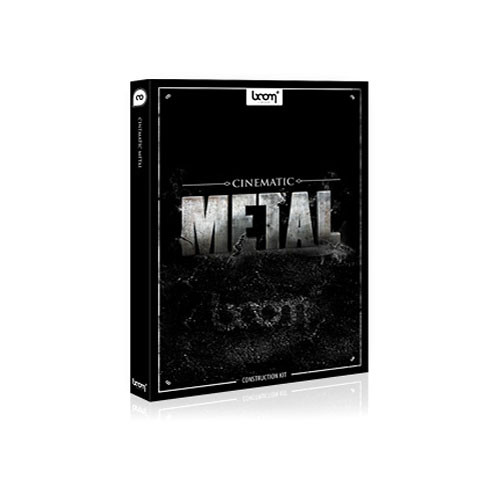 Sound Ideas Cinematic Metal Construction Kit Royalty-Free Sound Library