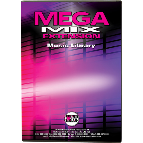 Sound Ideas MegaMix Extension Broadcast Music Library (Download)