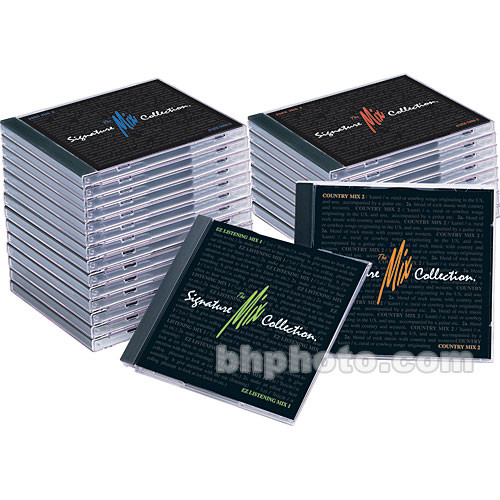Sound Ideas Sample CD: The Mix Signature Collection Combo