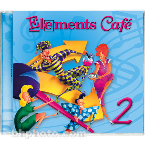 Sound Ideas Elements Cafe 2 - Imaging Elements and Sound Effects Library (Download)