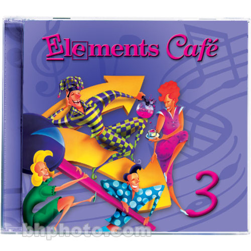 Sound Ideas Elements Cafe 3 - Imaging Elements and Sound Effects Library (Download)