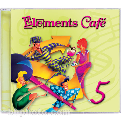 Sound Ideas Elements Cafe 5 - Imaging Elements and Sound Effects Library (Download)