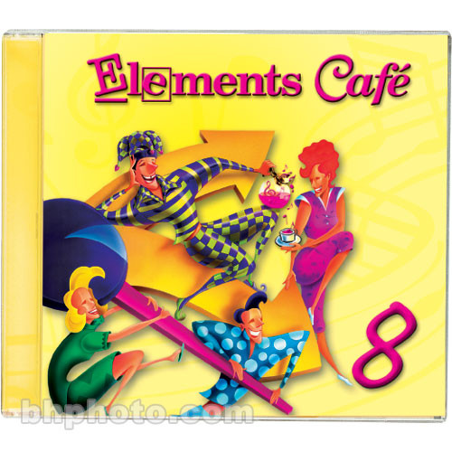 Sound Ideas Elements Cafe 8 - Imaging Elements and Sound Effects Library (Download)
