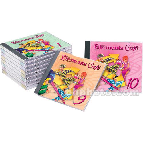 Sound Ideas Sample CD: Elements Cafe Audio Combo