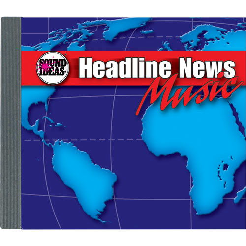Sound Ideas Sample CD: Headline News Music
