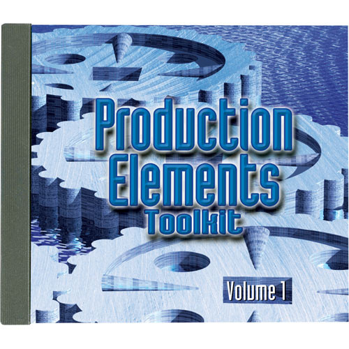 Sound Ideas Production Elements Toolkit - Volume 1 Sound Effects Library (Download)
