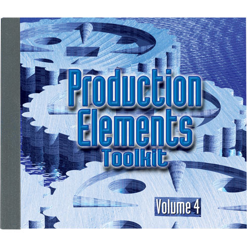 Sound Ideas Production Elements Toolkit - Volume 4 (1 Audio CD)