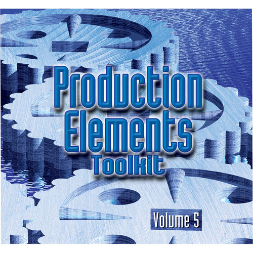 Sound Ideas Production Elements Toolkit - Volume 5 (Audio CD)