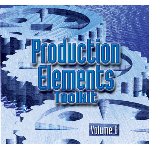 Sound Ideas Production Elements Toolkit - Volume 6 Sound Effects Library (Download)