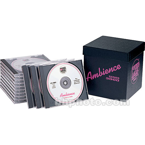 Sound Ideas Sample CD: Series 3000 Ambience 1