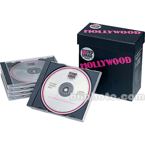 Sound Ideas Sample CD: Series 4000 Hollywood