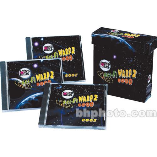 Sound Ideas Series 8000 Sci Fi Warp 2 Sound Effects Library (Download)