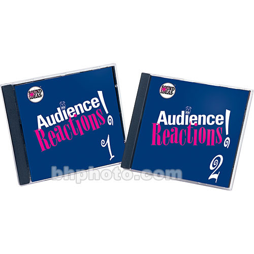 Sound Ideas Audience Reaction I Sound Effects Library (Download)