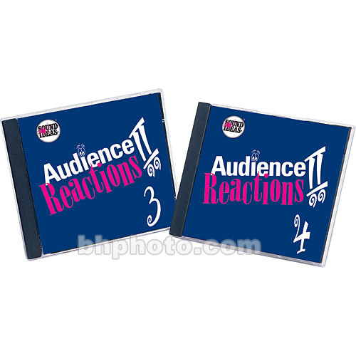 Sound Ideas Audience Reaction II Sound Effects Library (Download)