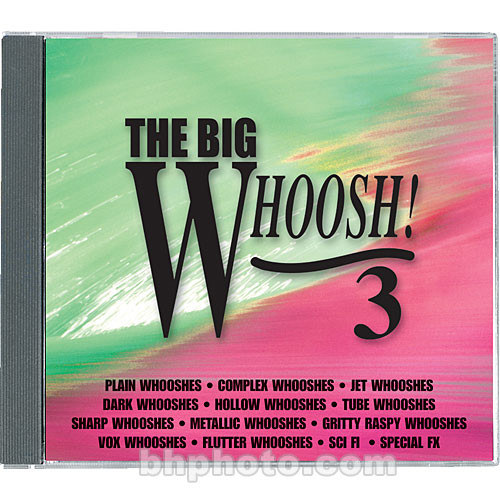 Sound Ideas The Big Whoosh 3 Sound Effects Library (Download)