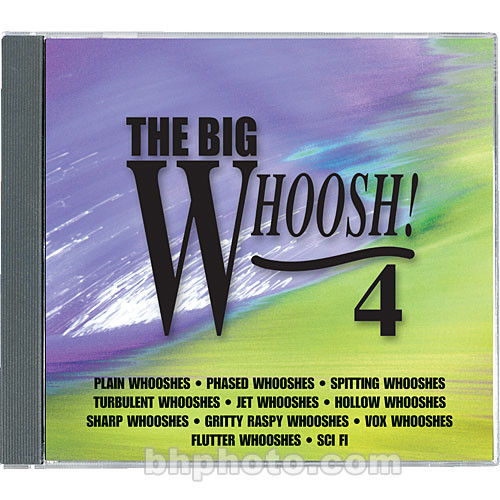 Sound Ideas Sample CD: The Big Whoosh 4