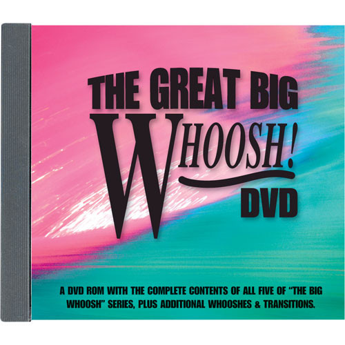 Sound Ideas The Great Big Whoosh Sound Effects Library (Download)