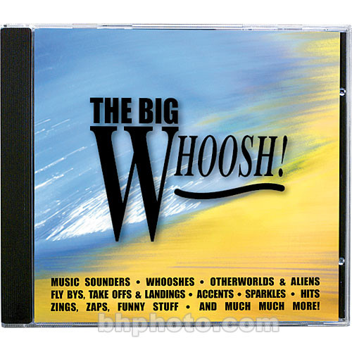 Sound Ideas The Big Whoosh Sound Effects Library (Download)
