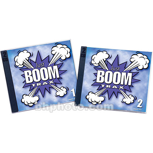 Sound Ideas Just Boom Trax Sound Effects Library (Download)