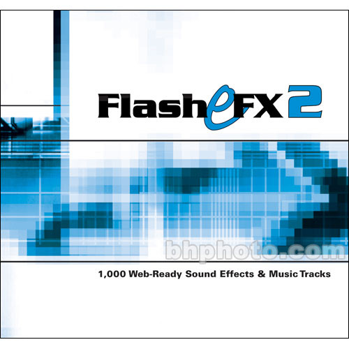 Sound Ideas Flash eFX 2 Sound Effects Library (Download)