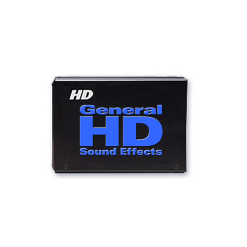 Sound Ideas The General HD Sound Effects Collection (Mac)