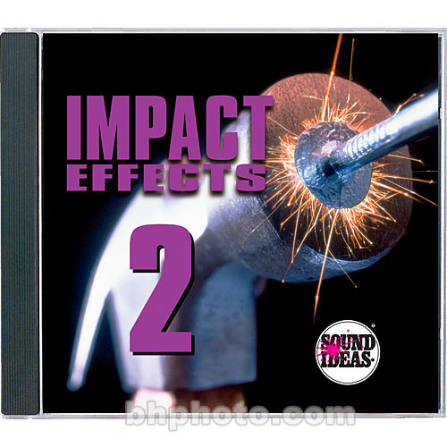 Sound Ideas Impact Effects 2 Sound Effects Library (Download)