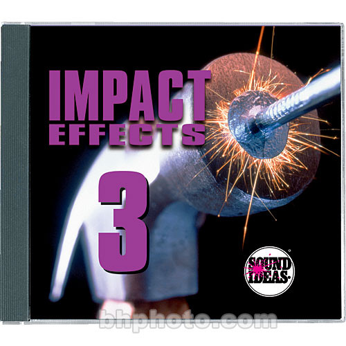 Sound Ideas Impact Effects 3 Sound Effects Library (Download)