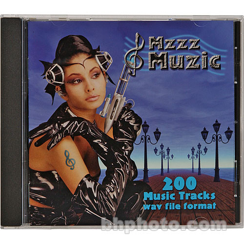 Sound Ideas Sample CD: Mzzz Muzic CD ROM