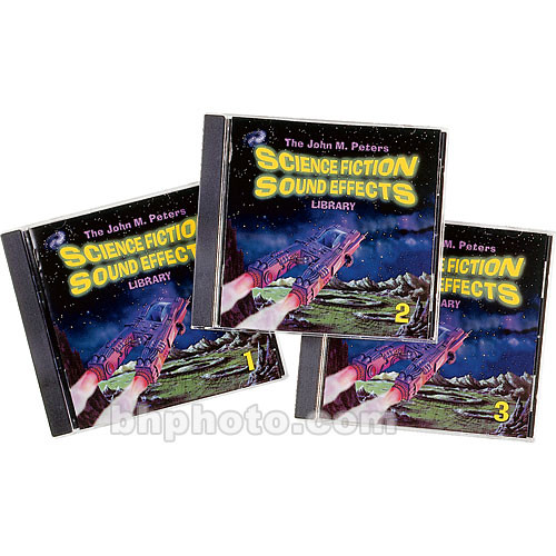 Sound Ideas Sample CD: Science Fiction Sound Effects