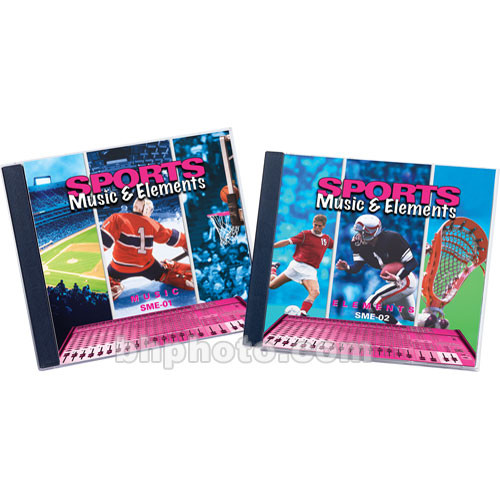 Sound Ideas Sample CD: Sports Music and Elements