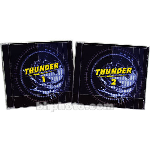Sound Ideas Thunder Sound Effects Library (Download)