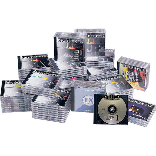 Sound Ideas Digiffects Complete Sound Effects Library (Audio CD)