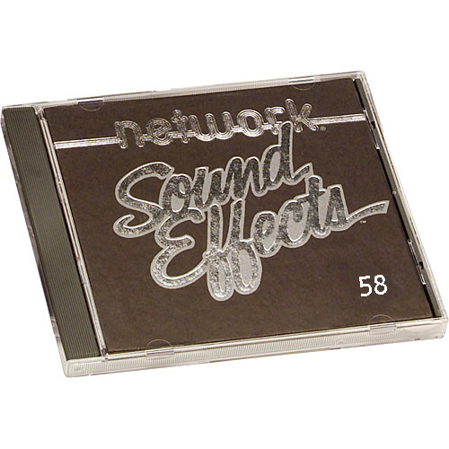 Sound Ideas Sample CD: Network Sound Effects  - Household (Disc 58)