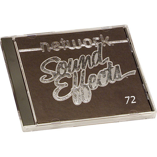 Sound Ideas Sample CD: Network Sound Effects  - Household (Disc 72)