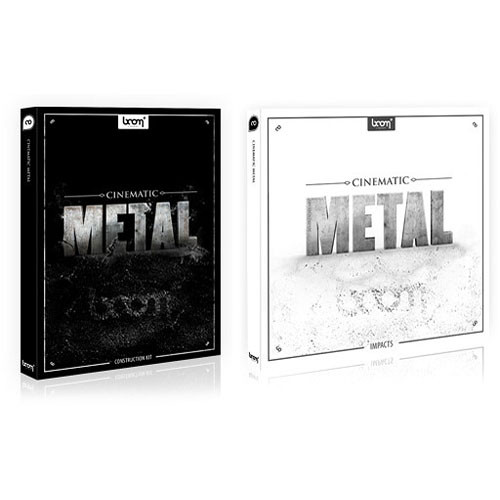 Sound Ideas Cinematic Metal Royalty-Free Sound Library Bundle (CD-ROM/DVD-ROM)