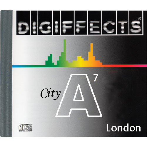 Sound Ideas Sample CD: Digiffects City SFX - London (Disc A07)
