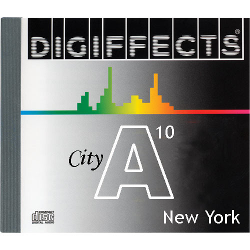 Sound Ideas Sample CD: Digiffects City SFX - New York City (Disc A10)
