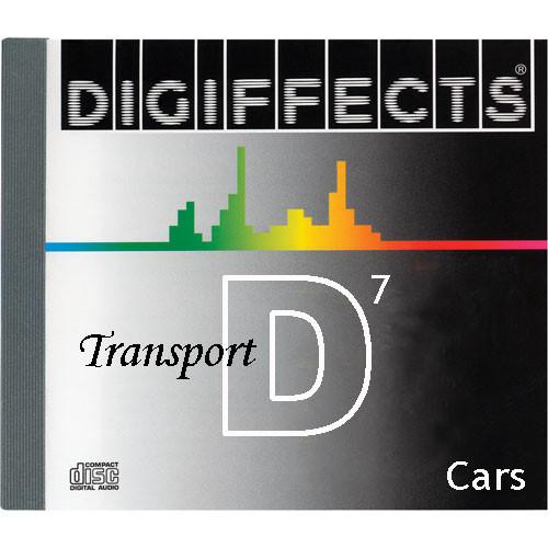 Sound Ideas Sample CD: Digiffects Transport SFX - Cars (Disc D07)