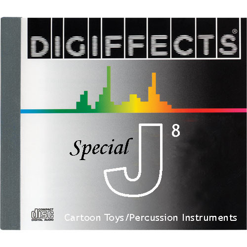 Sound Ideas Sample CD: Digiffects Special SFX - Cartoon Toys & Percussion Instruments (Disc J08)