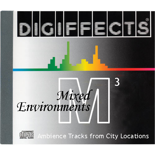 Sound Ideas Sample CD: Digiffects Mixed Environments SFX - Ambience Tracks from City Locations (Disc M03)
