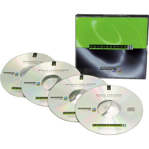 Sound Ideas Sample CD: Renaissance 5.1 SFX Library