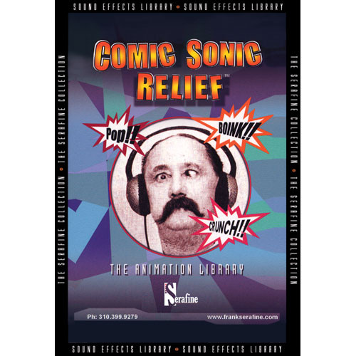 Sound Ideas Comic Sonic Relief by Serafine Sound Effects Library