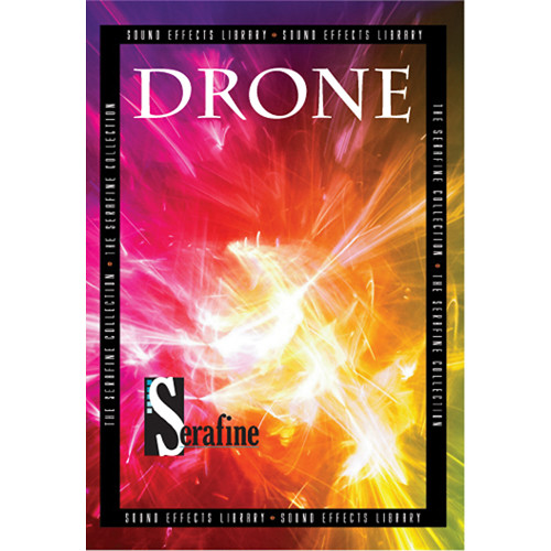 Sound Ideas Drone by Serafine Royalty-Free Sound Effects Collection (DVD-ROM)