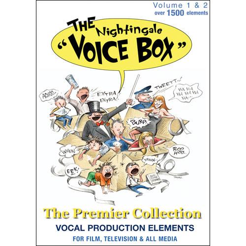 Sound Ideas Sample CD: Nightingale Voice Box 1 and 2
