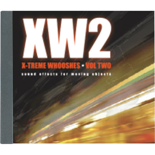 Sound Ideas X-treme Whooshes Volume 2 Production Elements and Sound Effects Library (Download)