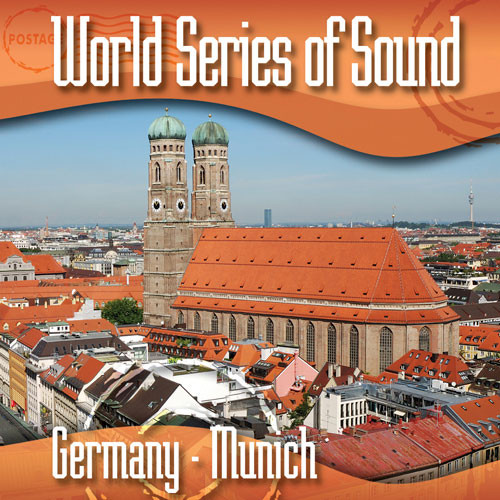 Sound Ideas World Series of Sound, Germany - Munich, Sound Effects CD