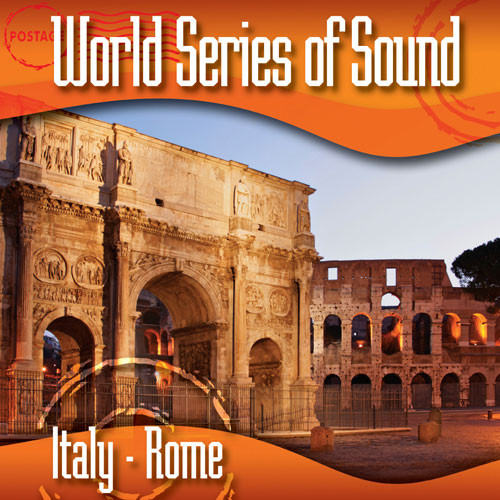 Sound Ideas World Series of Sound, Italy - Rome, Sound Effects CD