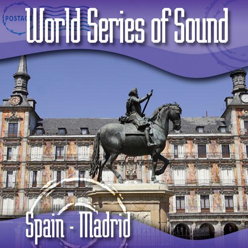 Sound Ideas World Series of Sound, Spain - Madrid, Sound Effects CD